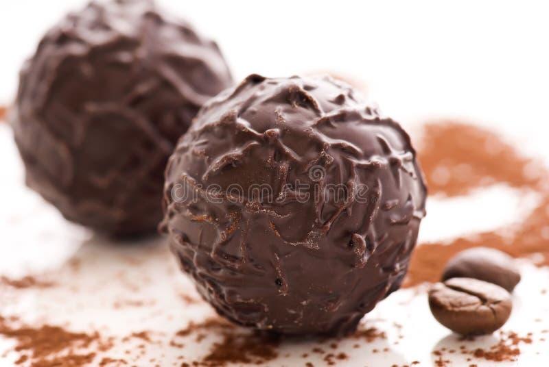 Truffe de chocolat photographie stock libre de droits