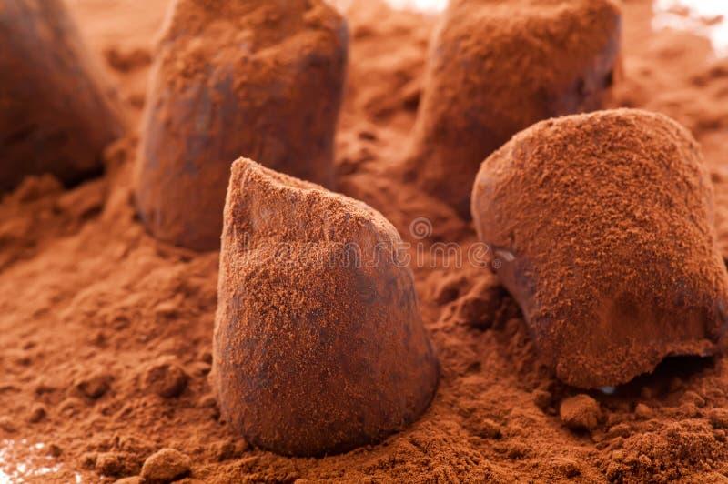 Truffe de chocolat photos stock