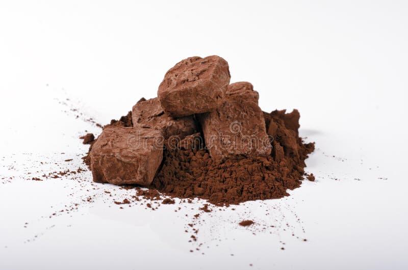 Truffles and Cocoa stock photo