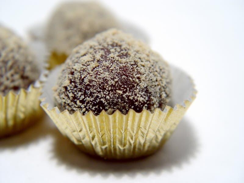 trufle chololate zdjęcie stock