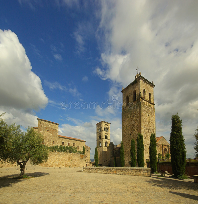 Trujillo教会 库存照片