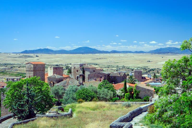 Trujillo, Caceres, эстремадура, Испания стоковая фотография