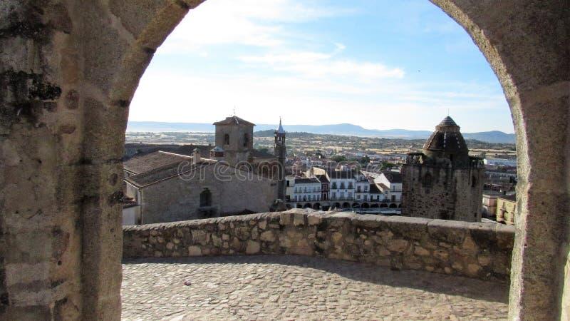 Trujillo, Caceres, Spanien lizenzfreie stockfotos