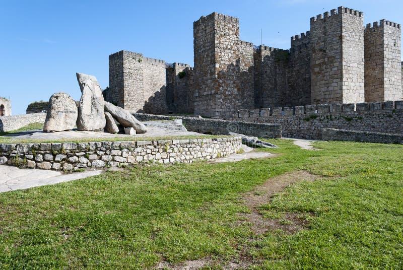Trujillo Castle Stock Photos