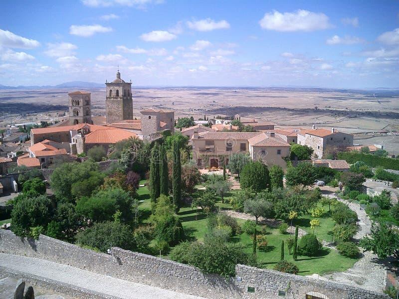 Trujillo Espagne image libre de droits