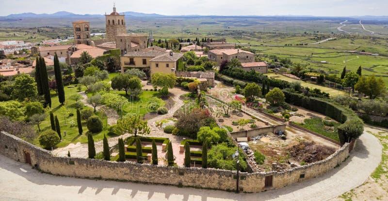 Trujillo Extremedura Spanje royalty-vrije stock foto's