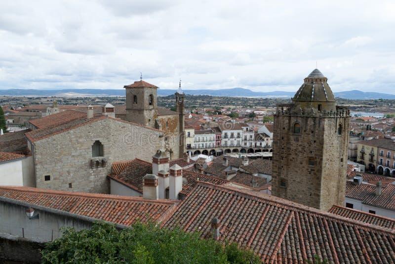 Trujillo от верхней части стоковое изображение