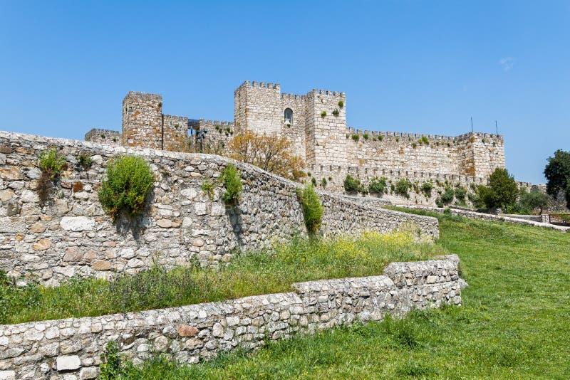Trujillo slott Extremedura Spanien arkivfoton
