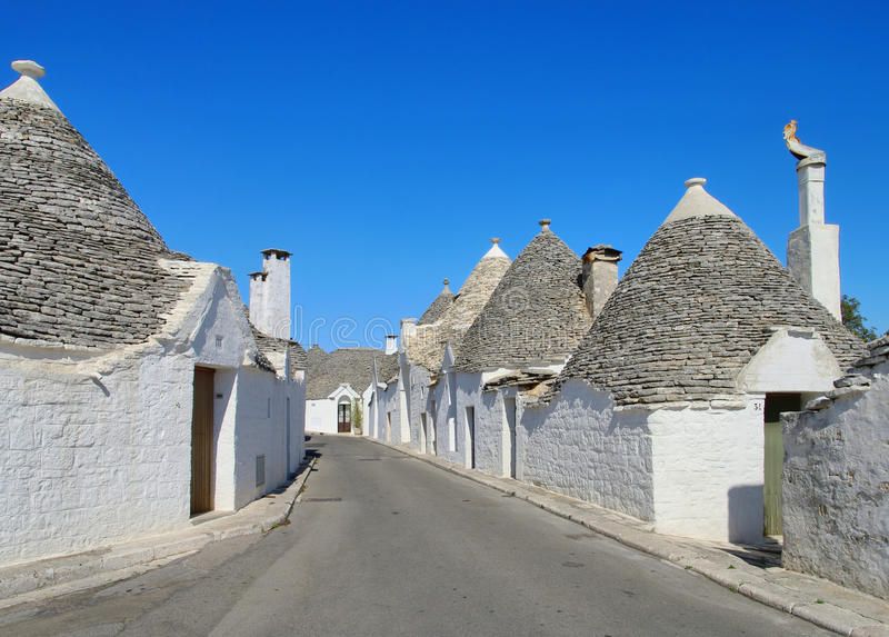 Trulli photo stock