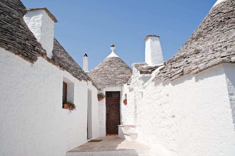 Trulli. Alberobello. Apulia. fotos de stock royalty free