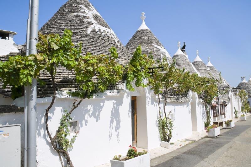 Trulli. Alberobello. Apulia. imagens de stock royalty free