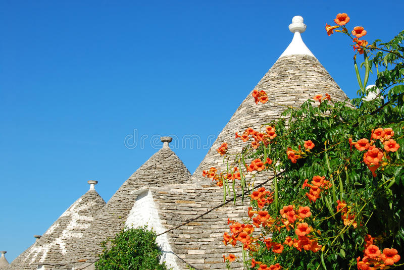 The Trulli of Alberobello in Apulia - Italy n131 royalty free stock photography