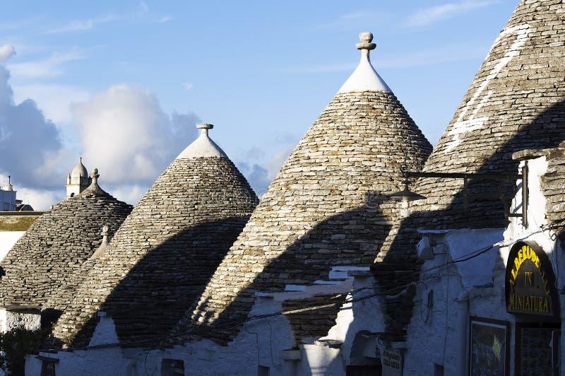 Trulli of Alberobello. Puglia - Italy royalty free stock photos