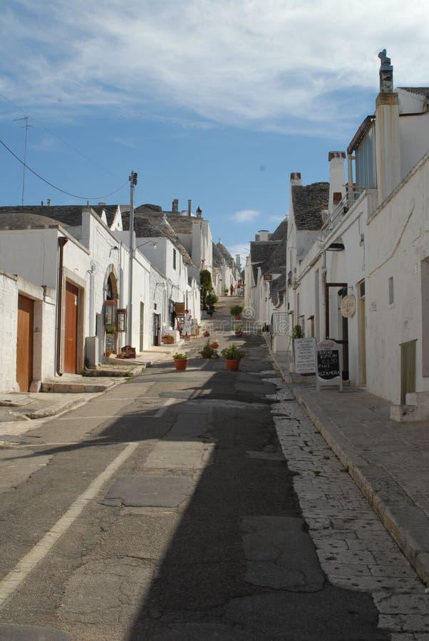 Trulli d'Alberobello photographie stock libre de droits