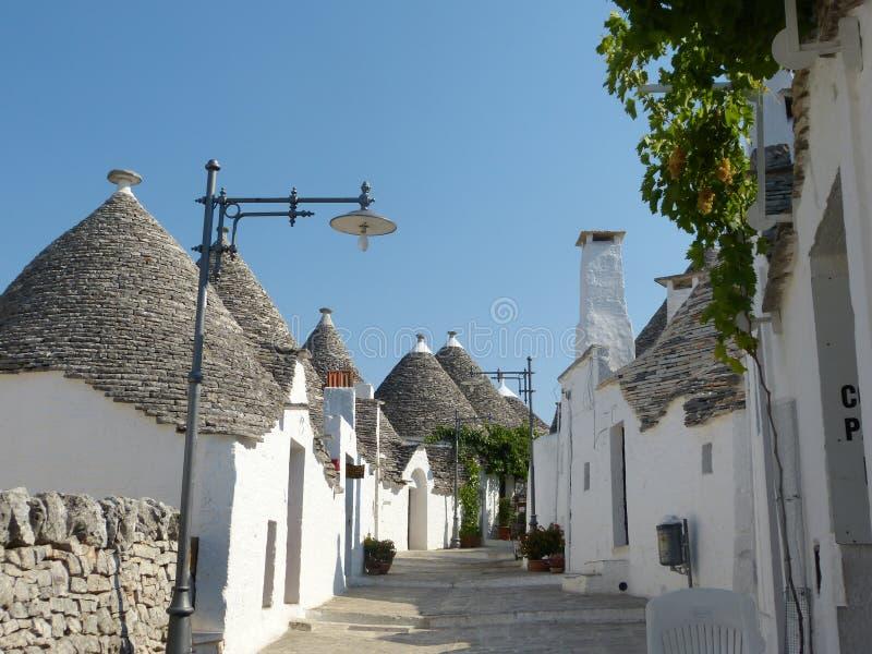 Trulli dans Alberobello image libre de droits