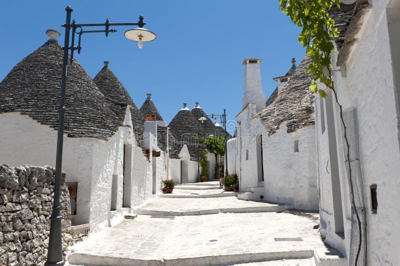 Trulli di Alberobello images stock