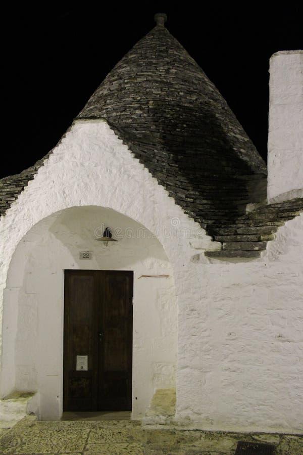 Trullo Alberobello obrazy stock