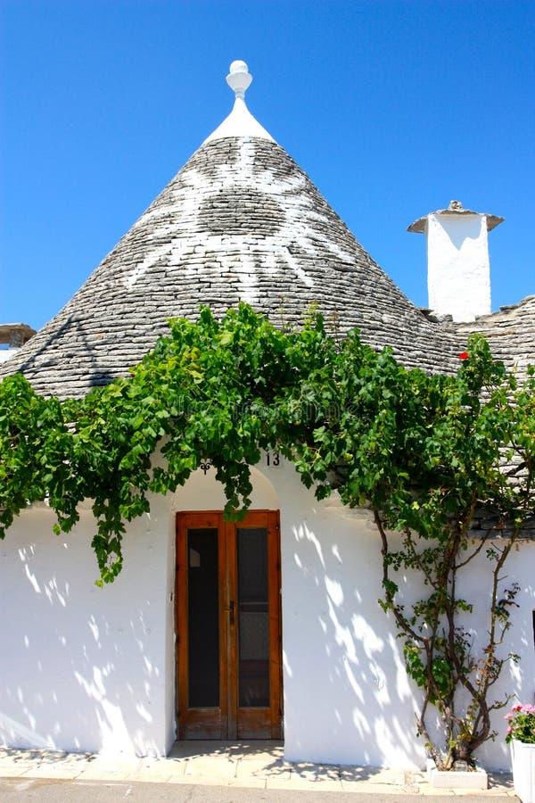 Trullo in Alberobello royalty-vrije stock fotografie