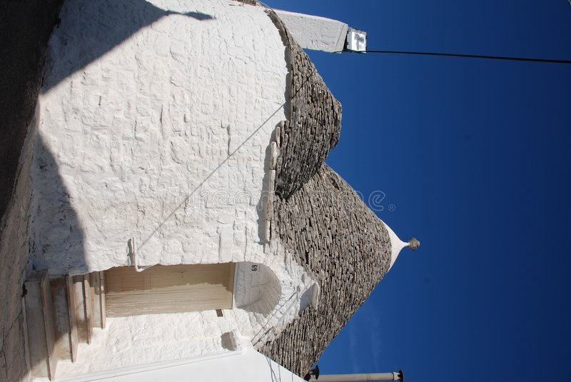 Trullo, Alberobello. A traditional trullo house in Alberobello in Puglia, southern Italy. The trulli, which are protected under UNESCO World Heritage laws, are stock images