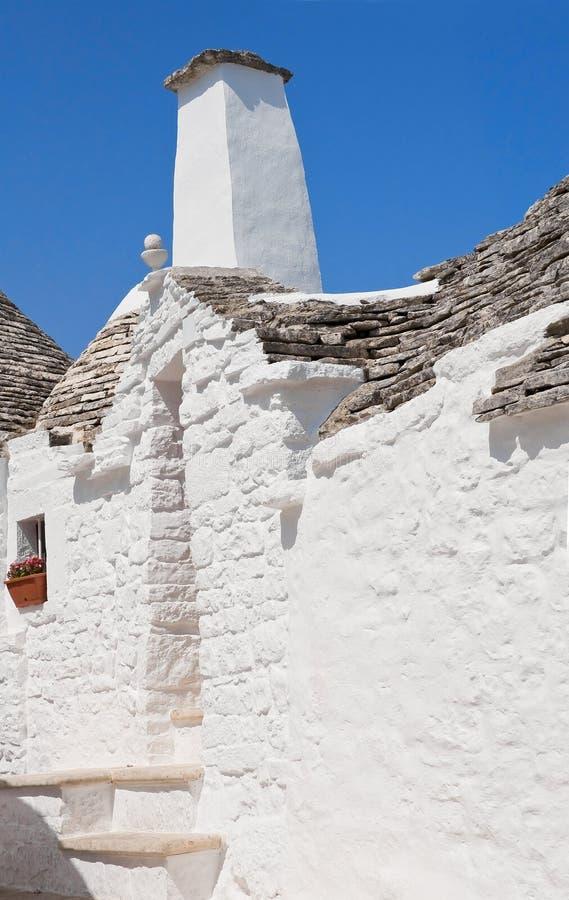 Trullo. Alberobello. Apulia. fotografia de stock