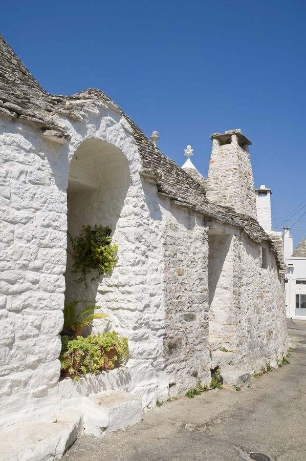 Trullo. Alberobello. Apulia. foto de stock