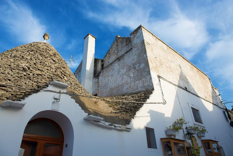Trullo house in Alberobello royalty free stock photography