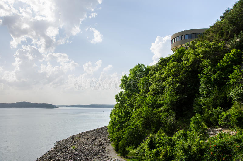 Truman Lake Ozarks Visitor Center fotografia de stock