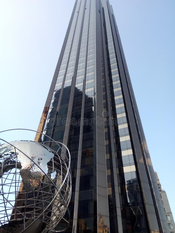 Trumf internationella Hotel&Tower, NYC royaltyfri fotografi