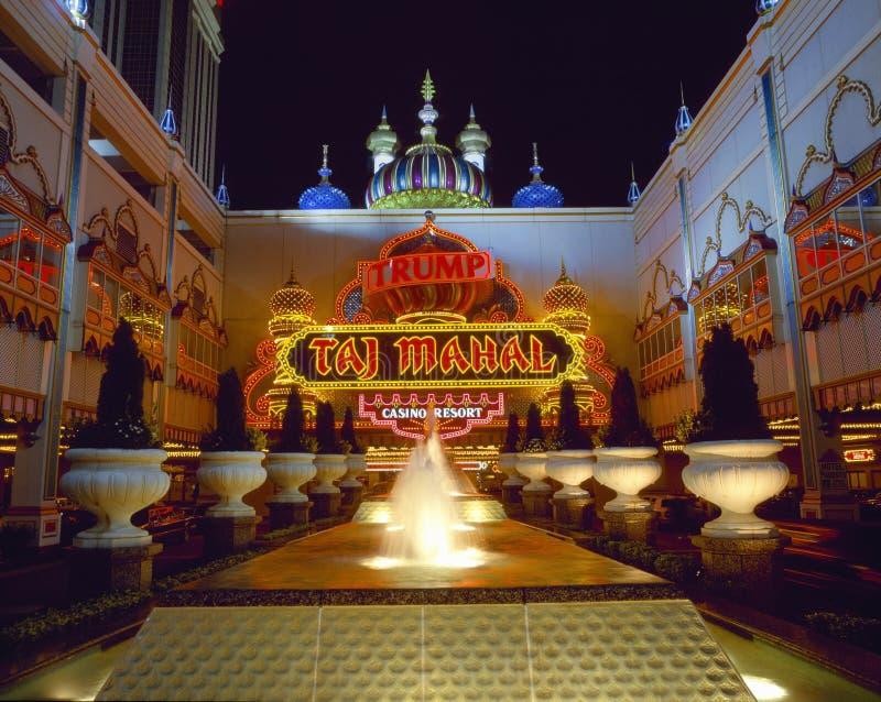 Trumf Taj Mahal royaltyfri fotografi