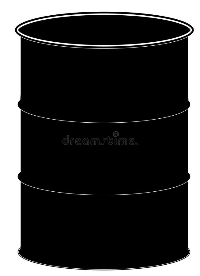trummablack royaltyfri illustrationer