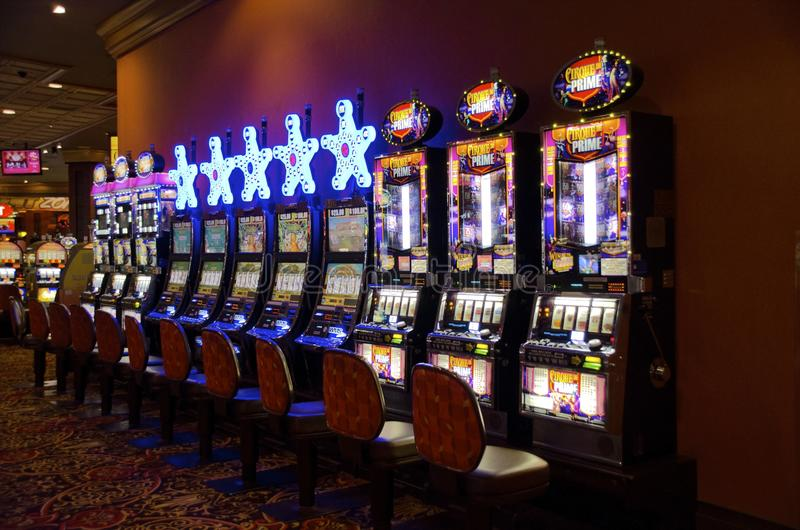 Trump Atlantic City Slot Machines stock photos