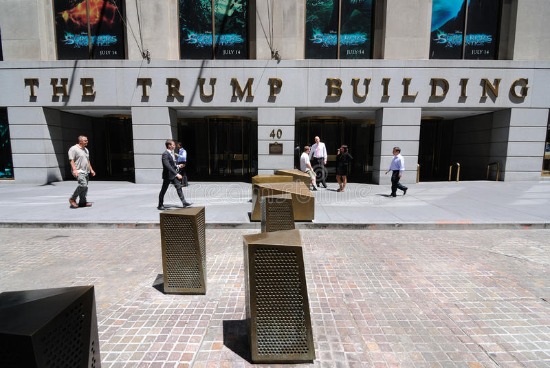 The Trump Building royalty free stock photography