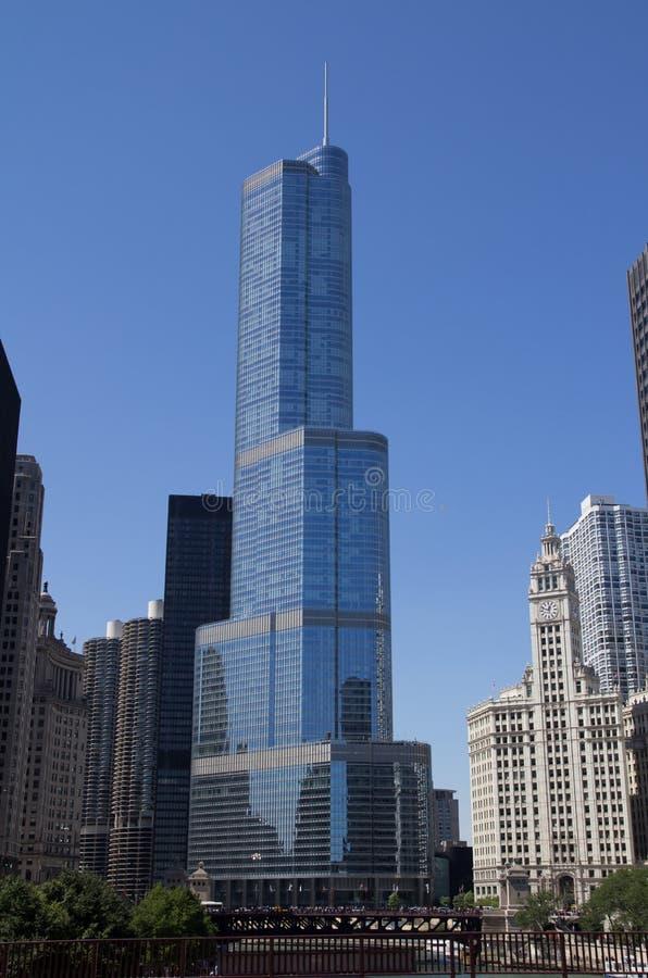 Trump Hotel Chicago Editorial Photo