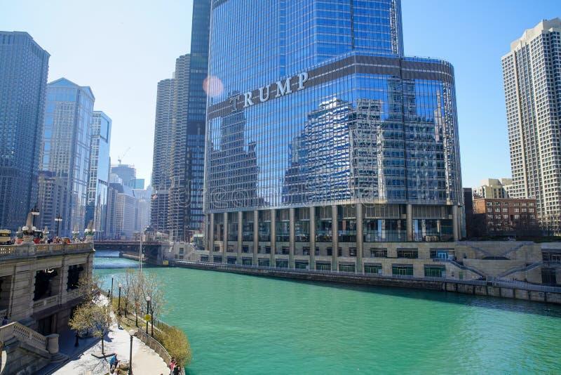 Trump International Hotel royalty free stock photos