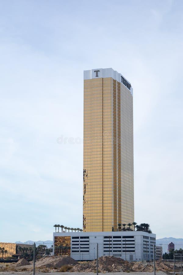 Free Trump International Hotel In Las Vegas Royalty Free Stock Image - 110116926