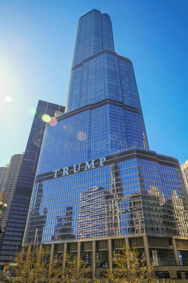 Trump International Hotel and Tower stock image