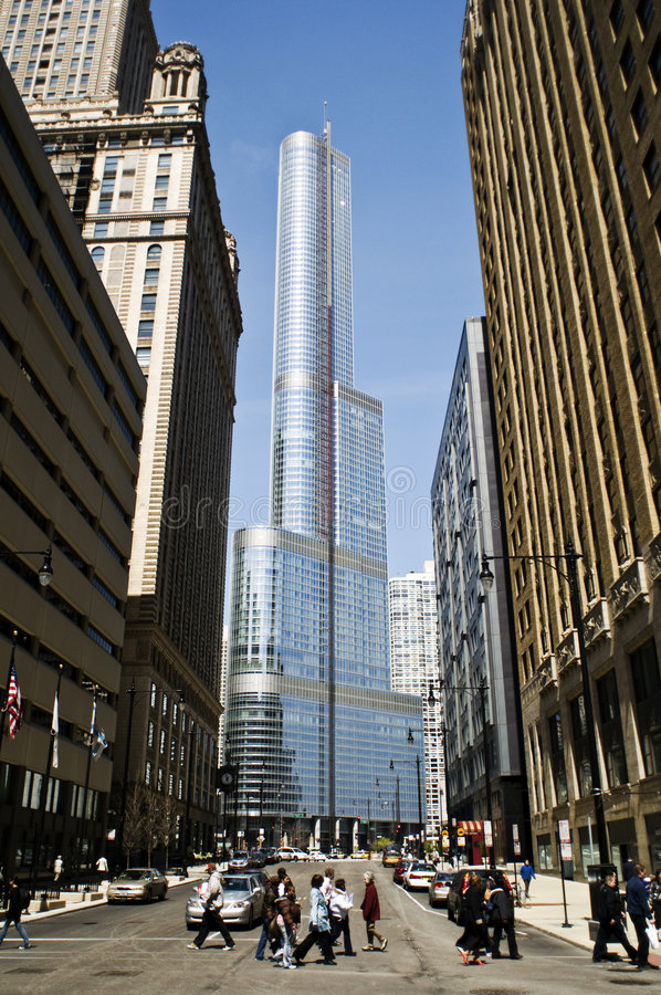 Trump International Tower Royalty Free Stock Images
