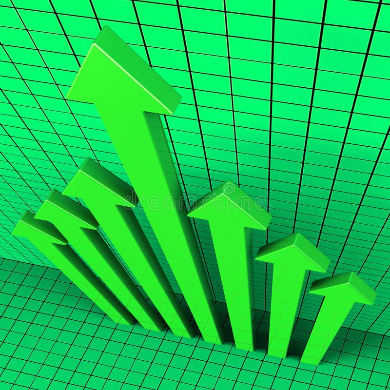 Trump Stock Market Global Funds Growth And Financial Investment - 3d Illustration. Trump Stock Market Global Funds Growth And Financial Investment. Economic vector illustration