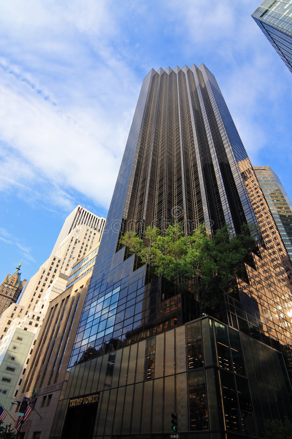 The Trump Tower. New York City, USA stock images
