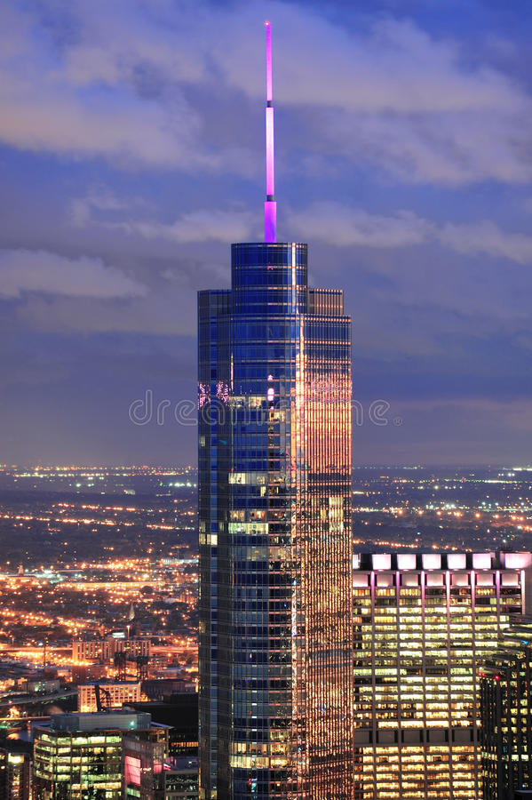 Download Trump Tower Chicago editorial stock photo. Image of skyscrapers - 23790143