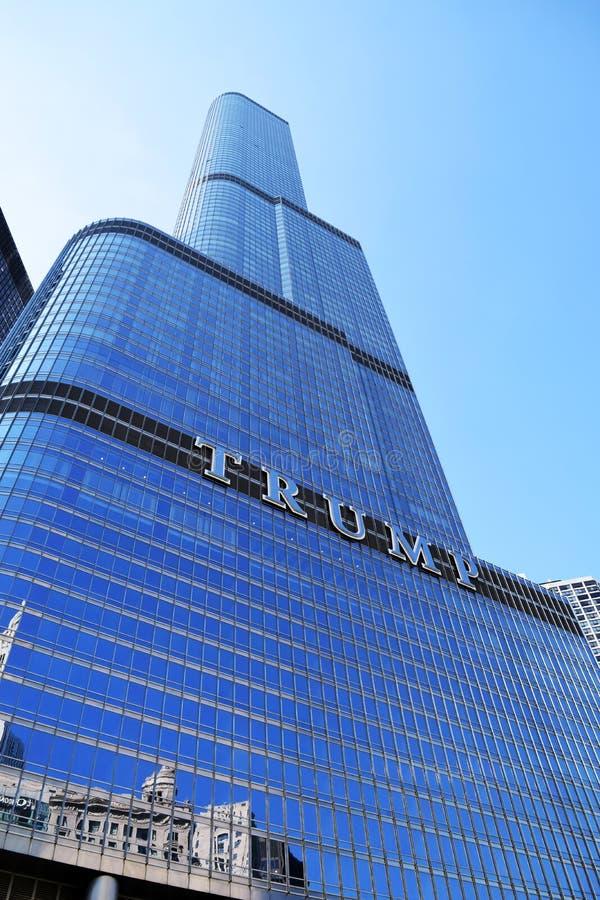 Trump tower stock image