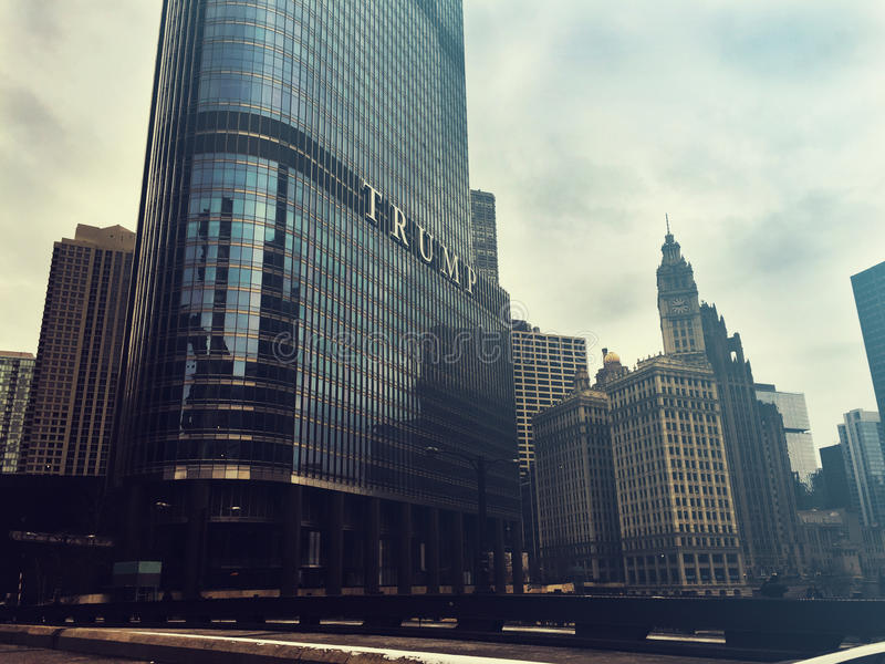 Trump Tower royalty free stock photo