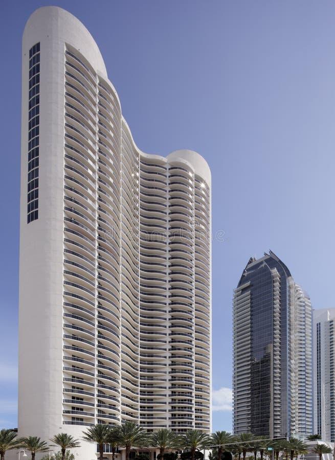Trump Tower Condominium Sunny Isles royalty free stock photos
