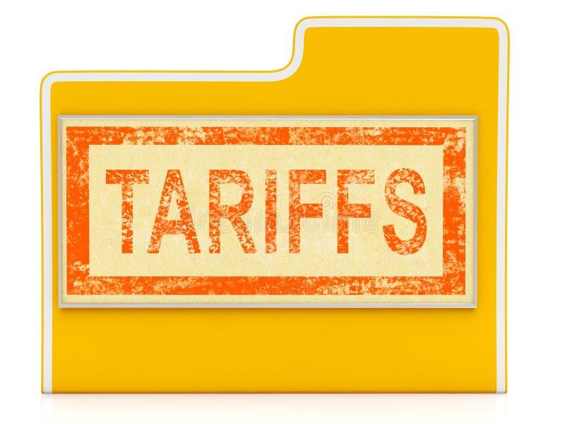 Trump Trade Tariffs On China As Duty And Penalty - 3d Illustration. Trump Trade Tariffs On China As Duty And Penalty. Usa Finance Economy Trading Taxation - 3d vector illustration
