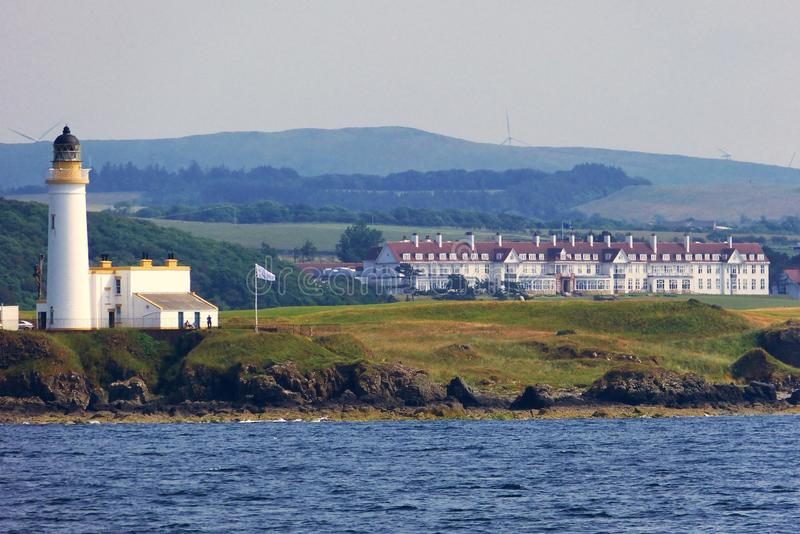 Trump Turnberry Hotel/Golf Course royalty free stock image
