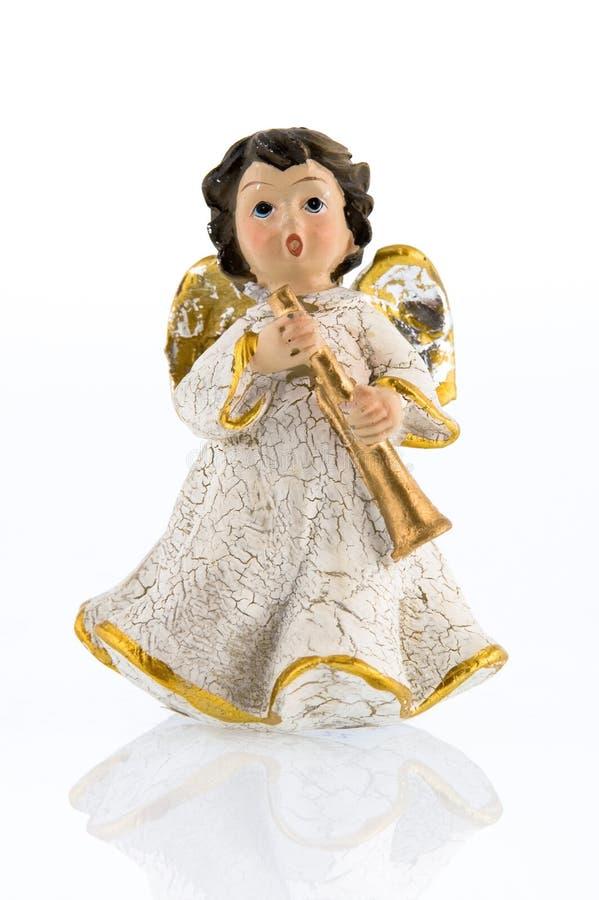 trumpet ангела стоковая фотография