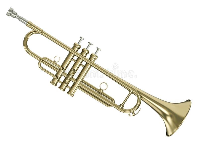 trumpet royaltyfri illustrationer