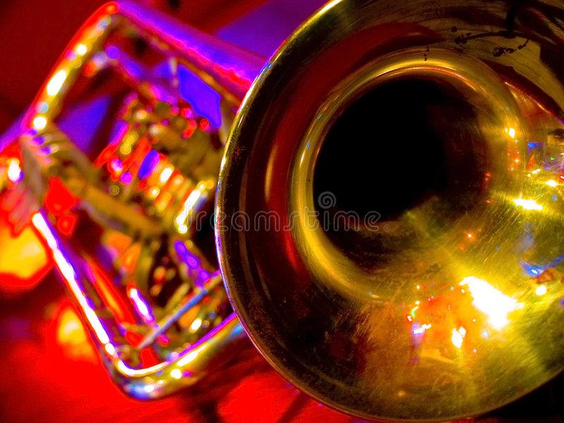 trumpet arkivbild