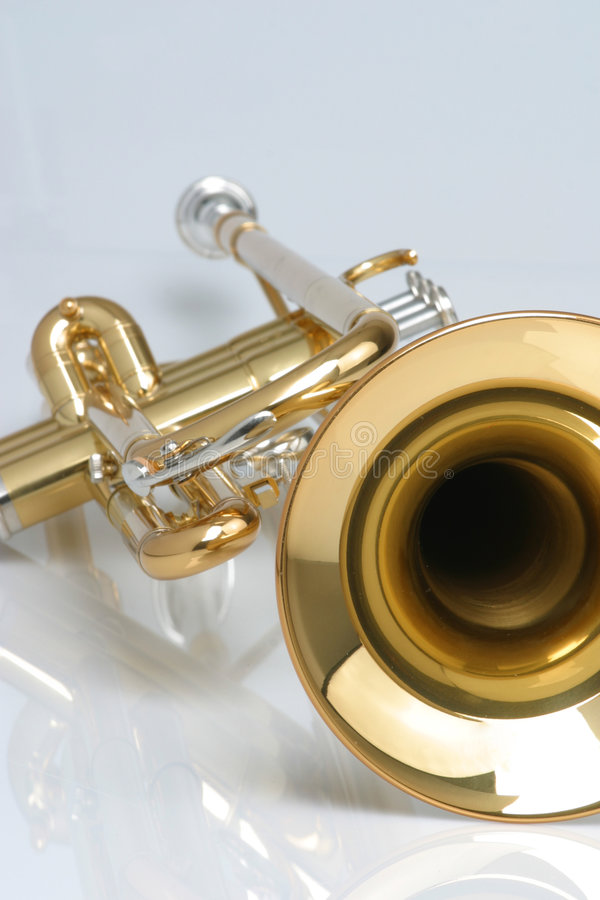 Free Trumpet Royalty Free Stock Photos - 252598