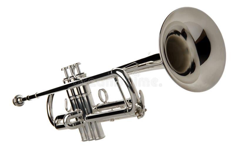 trumpet royaltyfri fotografi